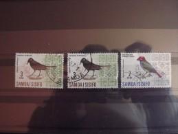 Lot N°1349 Lot De 3 Timbres Oblitéré Des Samoa Oiseaux - Mezclas (max 999 Sellos)