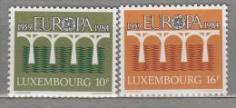EUROPA 1984 Luxembourg Mi 1098 - 1099 MNH (**) #18874 - 1984