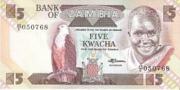 Zambia - Pick 25d - 5 Kwacha 1980-1988 - Unc - Zambia