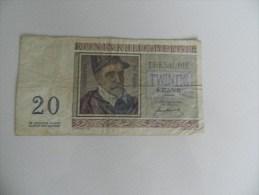 Billets   Twintig Frank  1-07-50    M 06   089145 - Belgio