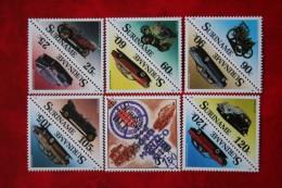 Surinam / Suriname 1989 Auto Cars Automobiles Oldtimers (ZBL 621-632 Mi 1294-1305 Sc 831-842) POSTFRIS / MNH ** - Surinam