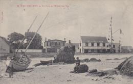 LES ILES CHAUSEY LE PORT ET L'HOTEL DES ILES 1911 - Granville