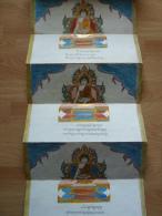 Myanmar ( Burma ), Buddhist Manuscripts ( Kammavaca ), Very Old & Beautiful ! - Asiatische Kunst