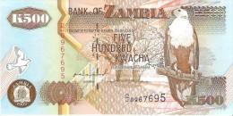 Zambia - Pick 39a - 500 Kwacha 1992 - AUnc - Zambie