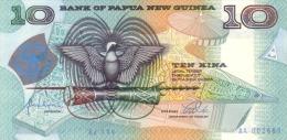 Papua New Guinea P.17a 10 Kina 1998 Unc - Papua Nuova Guinea