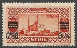 SYRIE N� 240 ERREUR DE SURCHARGE NEUF**  SANS CHARNIERE RRR / MNH / Sign� CALVES /  2 SCANS