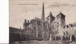 TREGUIER  - La Cathédrale - La Tour Hasthings Et Le Cloitre - Tréguier