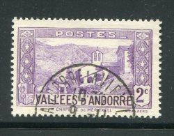 Andorre Y&T N°25 Oblitéré