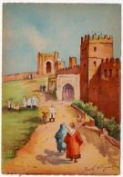 Rabat Maroc Palais Sultan Dessin Henri Noizeux éditeur Barré Dayez 1946 état Superbe - Rabat