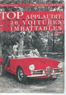 """TOP Réalités Jeunesse  N° 203 - 36 VOITURES IMBATABLES """" RENAULT 4 L / AUSTIN 850.. - CHAUSSETTES NOIRES -  OCTOBRE 1962 - Ohne Zuordnung"""