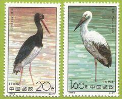 Chine 1992 3105 à 3106 ** Cigognes - 1949 - ... République Populaire