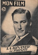 Revue MON FILM 1951 Errol FLYNN - Cinema/Televisione