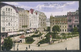 Polen    -  Lemberg Lwow Halicki-Platz, Walowa-Gasse - Polen