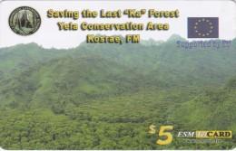 "Micronesia, FSM-R-017, Saving The Last ""ka"" Forrest, 2 Scans.  Please Read"