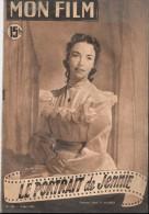Revue MON FILM 1951 Jennifer JONES - Cinema/Televisione