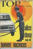 TOP Réalités Jeunesse  N° 241 - ALICE DONA - ALAIN BARRIERE - CLAUDE FRANCOIS -  JUIN  1963 - Non Classés