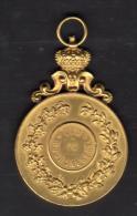Médaille De La Ville De Mons, Don Du Bourgmestre Et Armoiries - Tourist