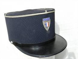 BEL ANCIEN KEPI POLICE MUNICIPALE PARIS Années 1960 à Voir ..............#.3 - Police & Gendarmerie