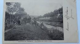 Environs De Chaumont  La Peche Du Canal à Luzy - Chaumont