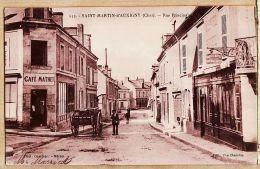 X18083 Peu Commun SAINT-MARTIN-d' AUXIGNY Cher Café MATHET Nouvel Hoel  Rue Principale 03-05-1922 - Veuve CHARETTE - Autres Communes