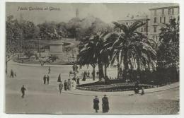 GENOVA PUBLIC GARDEN OF GENOA NV FP EDIZIONI D.FOTI MALTA - Genova
