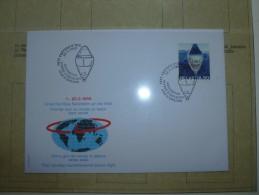 Premier Jour  Tour Du Monde En Ballon   (suisse) - Lettres & Documents