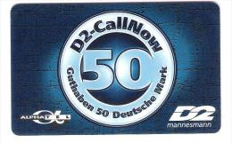 GERMANY  - D2 Mannesmann - Call Now - Provider AlphaTel - Alpha Tel - 06/02 - Germany