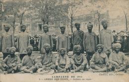 GUERRE 1914-18 -ARMEE DES INDES - Indiens Au Repos - Edit. Chabrol à ORLEANS - Guerre 1914-18