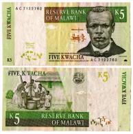 Malawi - 5 Kwacha 1989 - Malawi