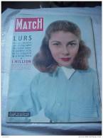 Paris Match 244 LURS LAEKEN MOSSADEGH KEAN COUV PIER ANGELI 11/53 - Algemene Informatie