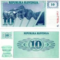 SLOVENIA 10 Tolars  **UNC** - Slovénie