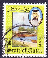 Katar Qatar - Dau Im Hafen (Mi.Nr. 860) 1984 - Gest. Used Obl. - Qatar