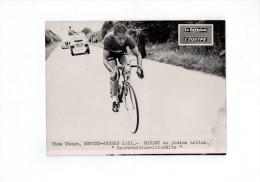 Tour De France 1951 7° Etape Rennes-Angers:Koblet En Pleine Action (foto 20x15cm ) - Ciclismo