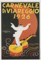 CARNEVALE DI VIAREGGIO 1926  RIPRODUZIONE CARTOLINE STORICHE IN OCCASIONE DEI 130 ANNI DEL CARNEVALE - Viareggio