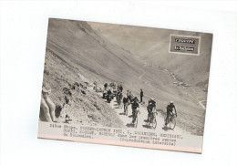 Tour De France 1951 14° Etape Tarbes-LuchonLazarides,Geminiani,Coppi:Koblet,Bartali ...Tourmalet (foto 20x15cm ) - Cyclisme