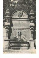 BOURGOIN JALLIEU.La Fontaine Antique Du Château - Bourgoin