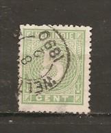 India Holandesa  Yvert  21 (usado) (o) (defectuoso) - Niederländisch-Indien