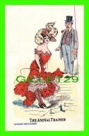 COMICS - ILLUSTRATOR, P. GORDON, 1908  - THE ANIMAL TRAINER - 3/4 BACK - - Bandes Dessinées