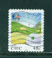 Wholesale/Bundleware  IRELAND  -  2006  Golf Ryder Cup  Self Adhesive  Used As Scan X 10  CV +/- £10 - 1949-... Republic Of Ireland