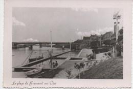 BEAUMONT SUR OISE    LA PLAGE        PHOTO COLLIN - Beaumont Sur Oise
