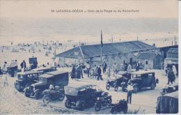 Lacanau Océan Coin De La Plage Vue Du Rond Point - Other Municipalities