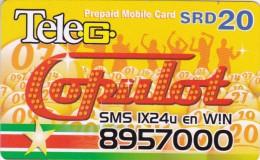 Surinam, $20,Tele-G, 2 Scans.