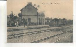 Montmartin Sur Mer, La Gare - Gares - Avec Trains
