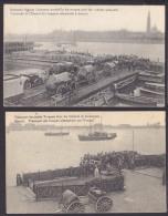 Antwerpen Anvers Transport Des Troupes Allemandes Sur Escaut, Dt. Truppen über Die Schelde, Feldpost 1915 - Netherlands