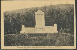 Polen -   Denkmal Des Reserve-Jäger-Bataillons  20 Bei Pleskowce  (Galizien )  1915 - Polen