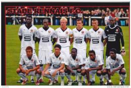 FOOTBALL CP EQUIPE  DU STADE  RENNAIS  2009/10 - Voetbal