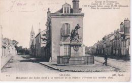 17- Orléans - Le Monument De La Defense D´Orléans - Les Aydes - Sonstige Gemeinden
