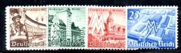 TERZO REICH 1940 ,  Lipsia  Serie  663/666  *** MNH - Germania