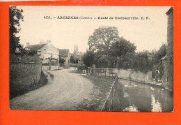 14 ARGENCES : Route De Croissanville - France
