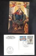 MALTA - MADONNA TAL - KARMNU POSTCARD WITH STAMPS 1995 - Malta
